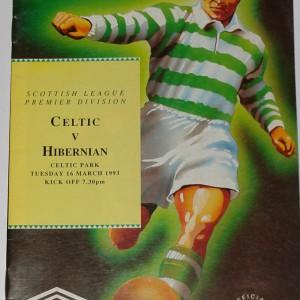 celtic v hibernian 1993