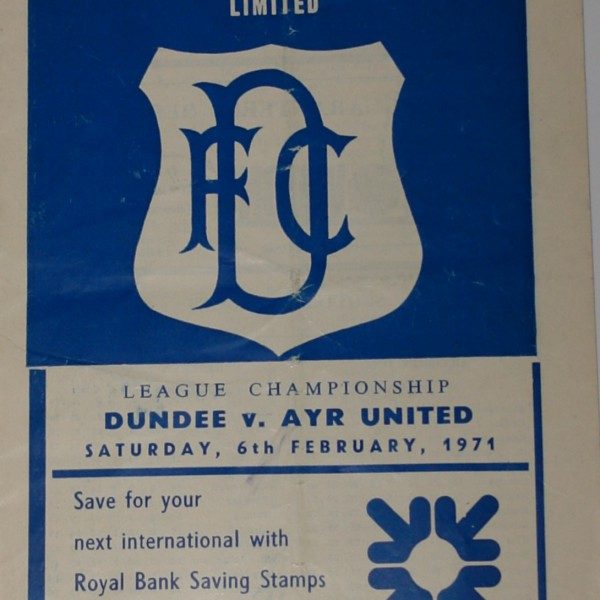 dundee v ayr united 1971