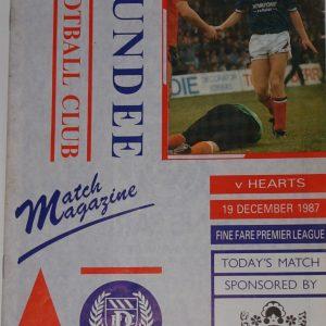 dundee v hearts 1987