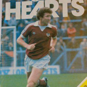 hearts v dundee united 1980