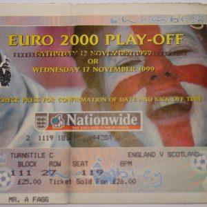 england v scotland 1999