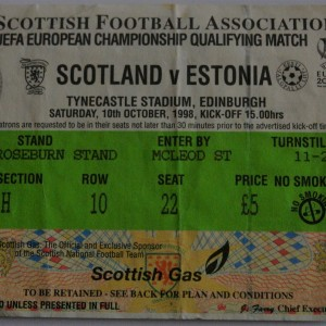 scotland v estonia 1998