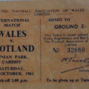 wales v scotland 1962