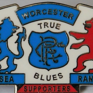 worcester chelsea supporters badge