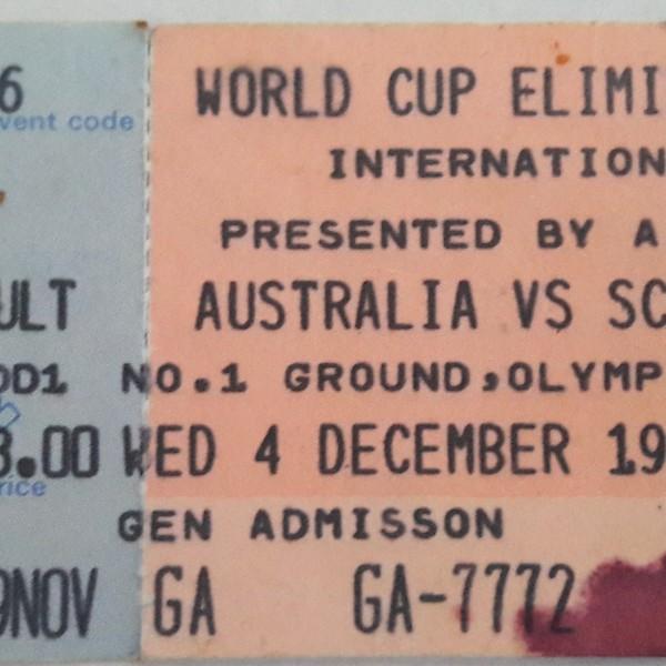 australia v scotland 1985