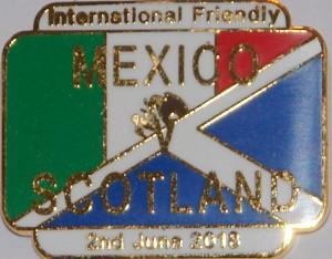 mexico v scotland badge