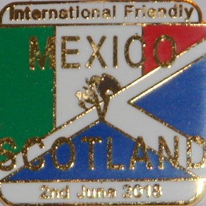 mexico v scotland badge