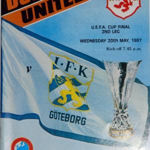 dundee united v gothenburg 1987