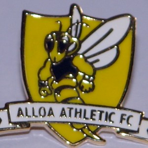 alloa athletic badge