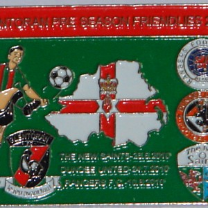 glentoran friendly badge