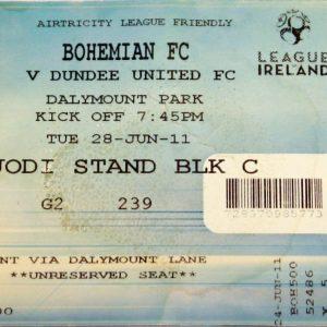 bohemian v dundee united 2011
