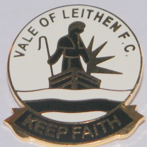 vale of leithen fc badge