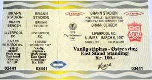 brann v liverppool 1997