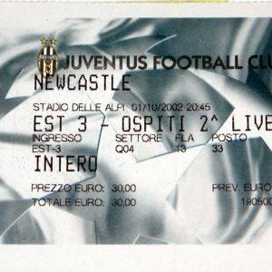 juventus v newcastle 2002