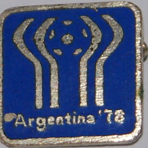 argentina badge 1978 badge