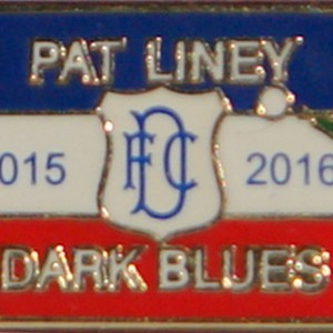 pat liney supporters badge