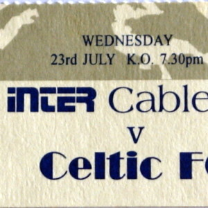 inter cable v celtic stub
