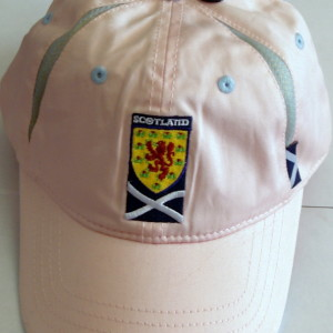 light pink cap