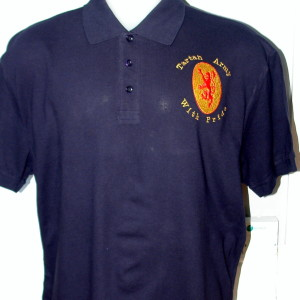 navy dark blue polo