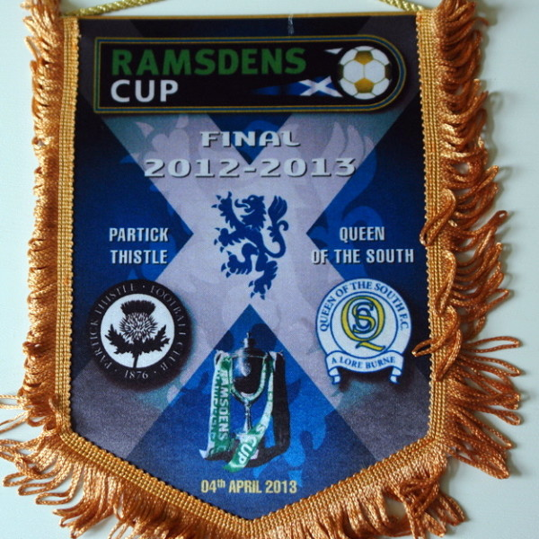 partick thistle v queen of the south pennant