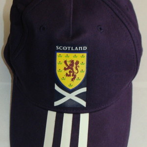 scotland blue cap 3 stripes