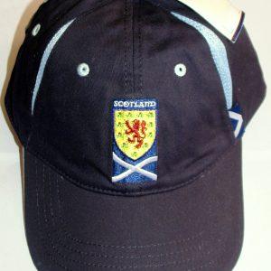 scotland cap with white
