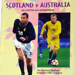 scotland v australia 2000