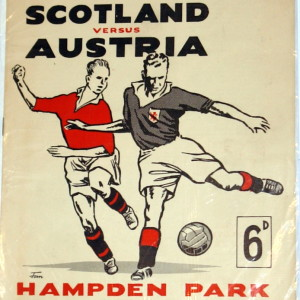 scotland v austria 1950