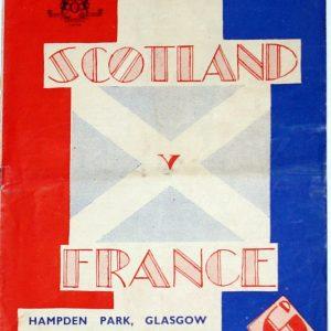 scotland v fance 1949