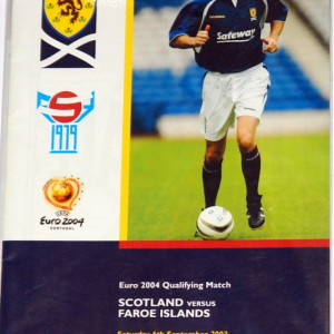 scotland v faroes 2003