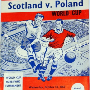 scotland v poland 1965