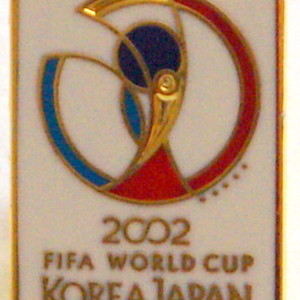 2002 woerld cup badge