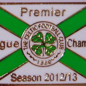celtic champs badge 2012-13 badge