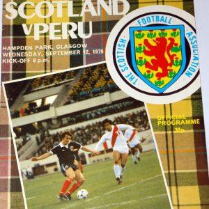 scotland v peru 1979
