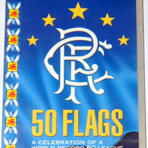 rangers 50 flags dvd