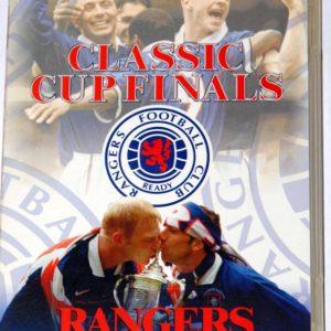 rangers cup finals dvd