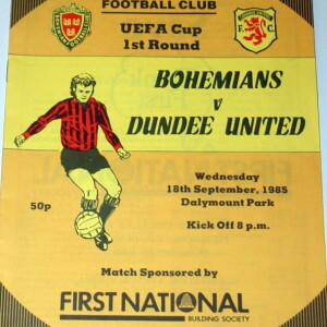 bohemians v united 1985