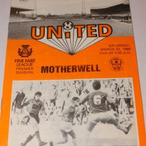 united v motherwell 86