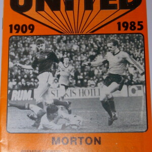 Dundee United v morton april 1985