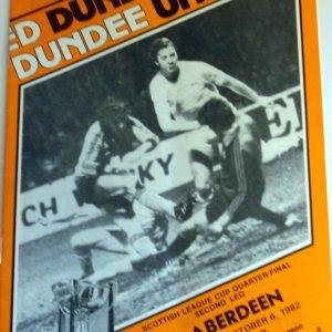 united v aberdeen 1982 oct