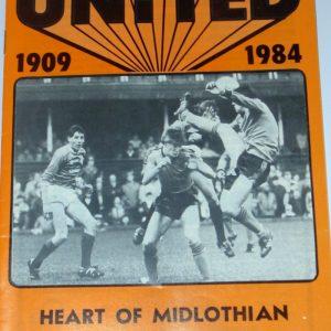 united v hearts 1985 december