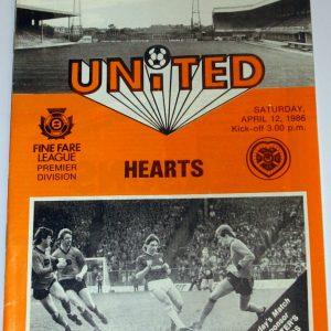 united v hearts 1986 april