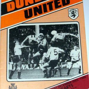 united v hearts 1986 december