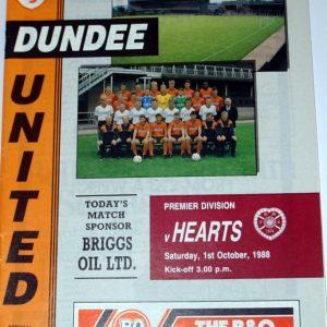 united v hearts october 1988