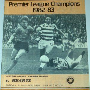 united v hewarts 1984 march