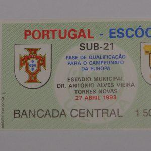 portugal v scotland u21