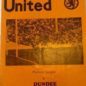 dundee united v dundee 1981