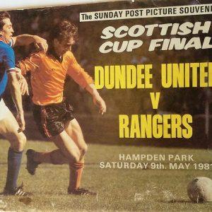 dundee united v rangers 1981