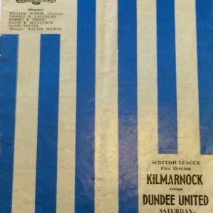kilmarnock v dundee united 1970