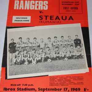 steaua v rangers 1969